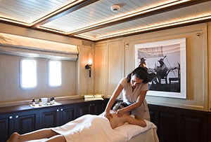 Spa experience on Satori Yacht